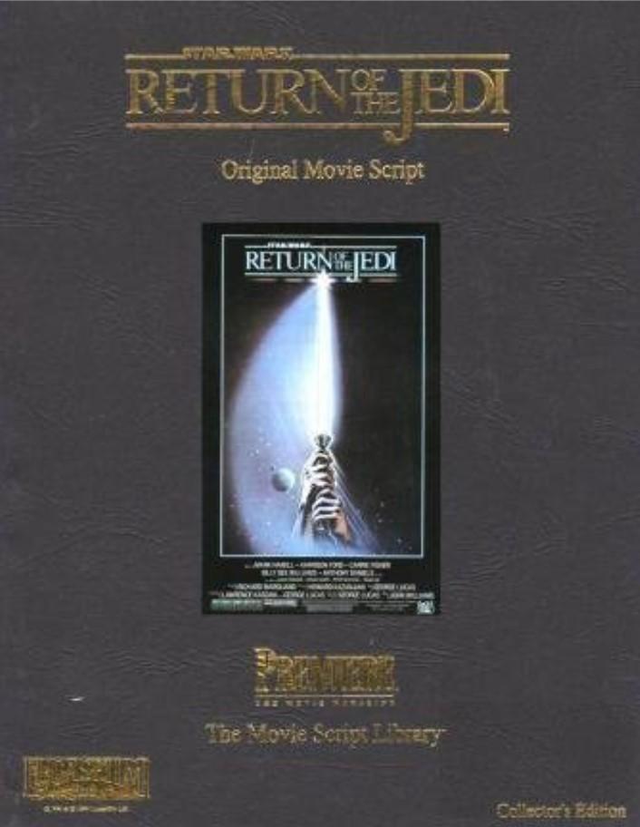 Return of the Jedi: The Movie Script Library