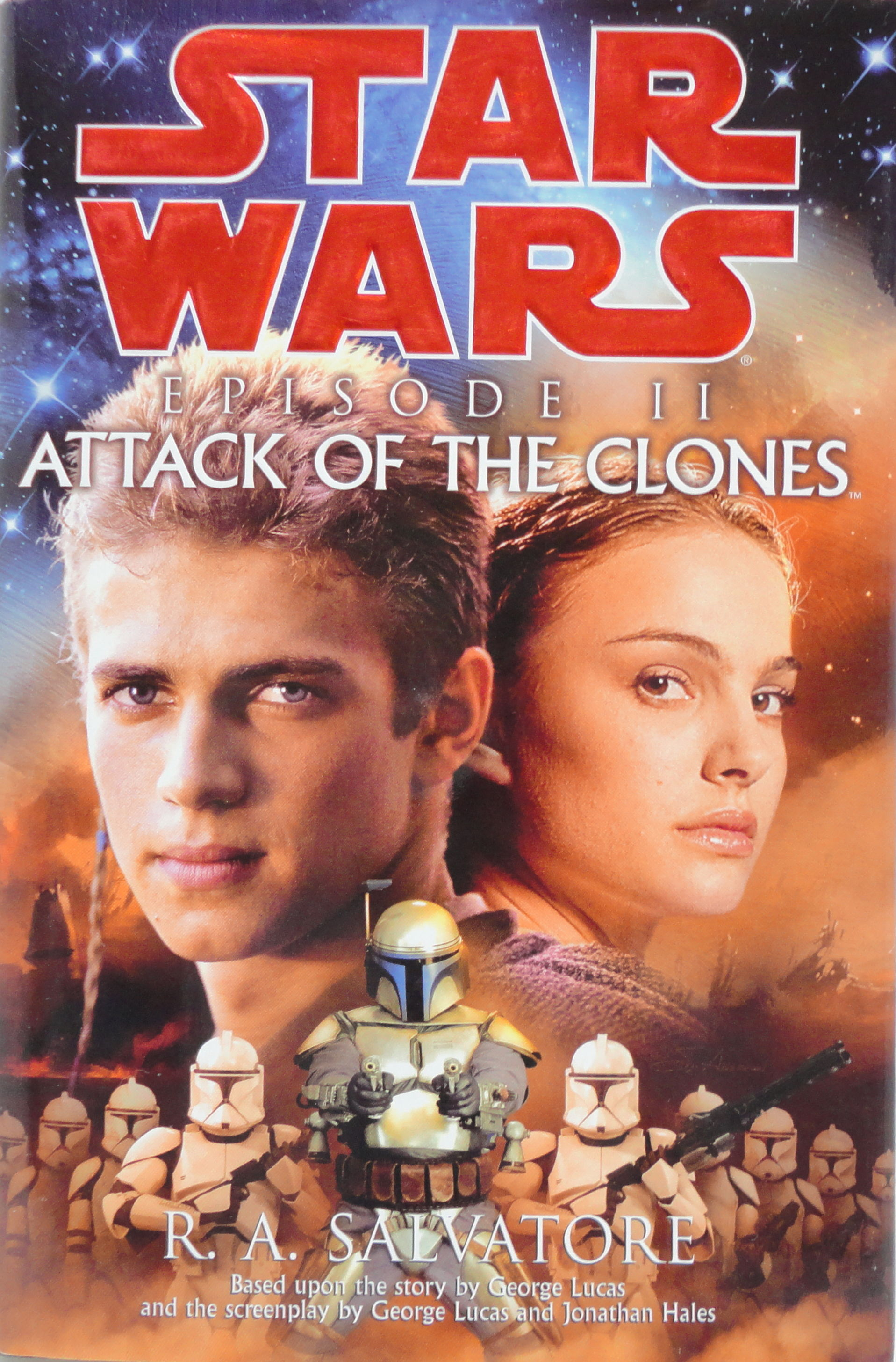Star Wars Episode II: Attack of the Clones (Novel)