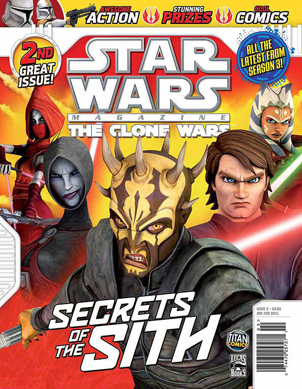 Star Wars The Clone Wars Magazine 2