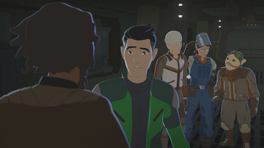 Star Wars Resistance: Fuel for the Fire