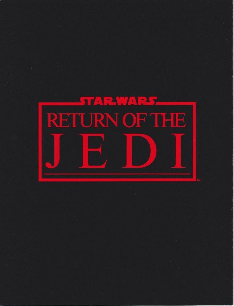 Star Wars Return of the Jedi Souvenir Program