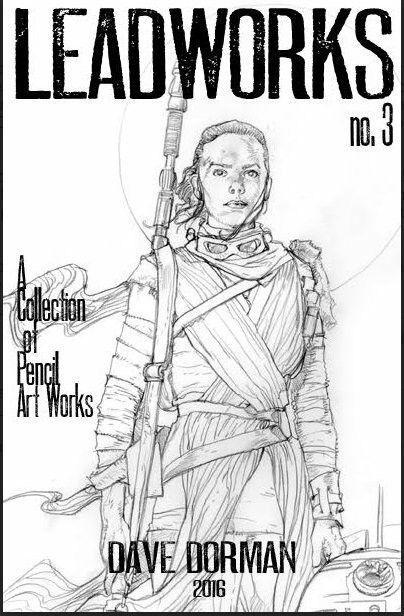 Leadworks Volume 3 (A Collection of Pencil Sketches by Dave Dorman)