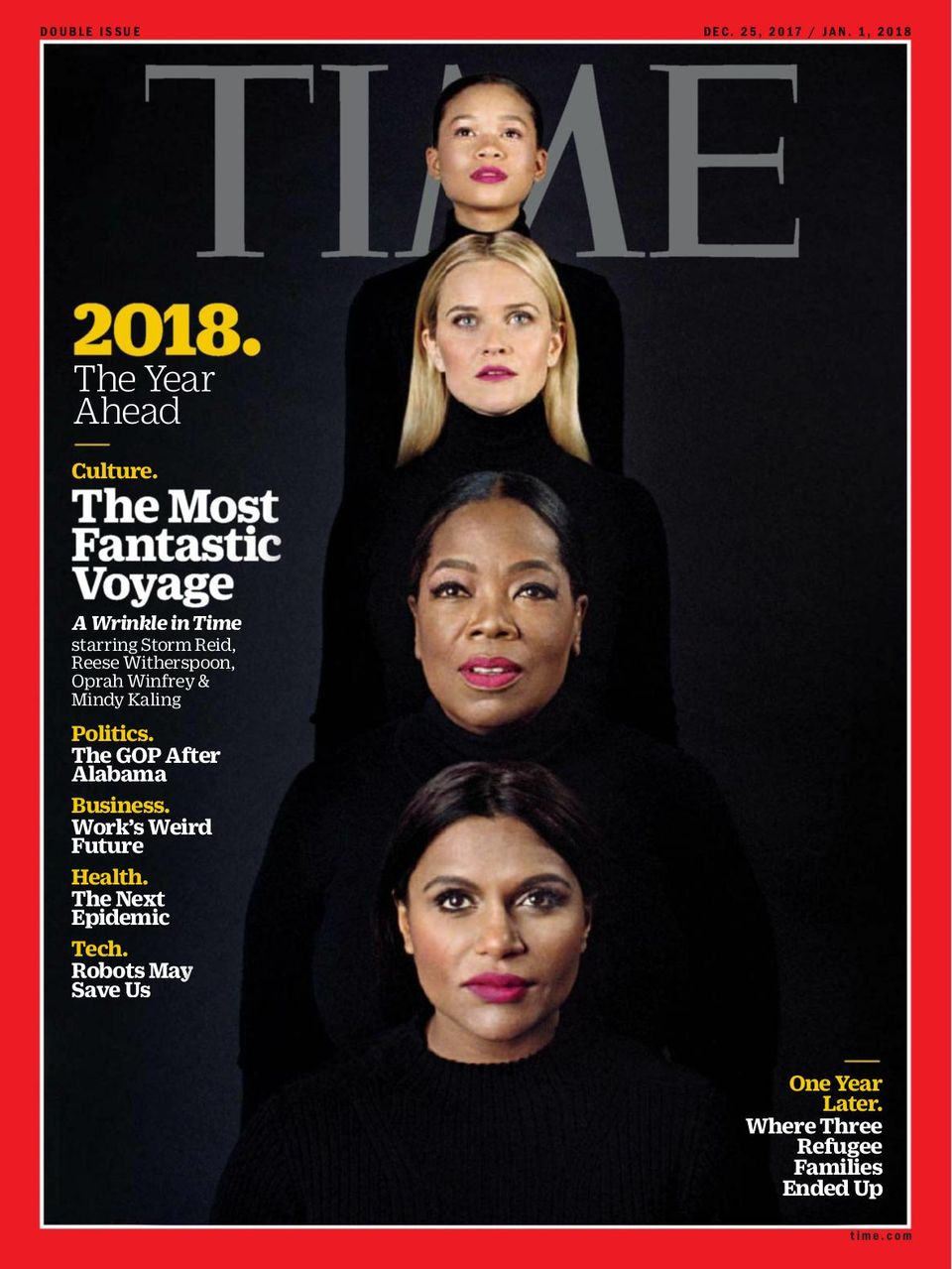 Time December 25, 2017