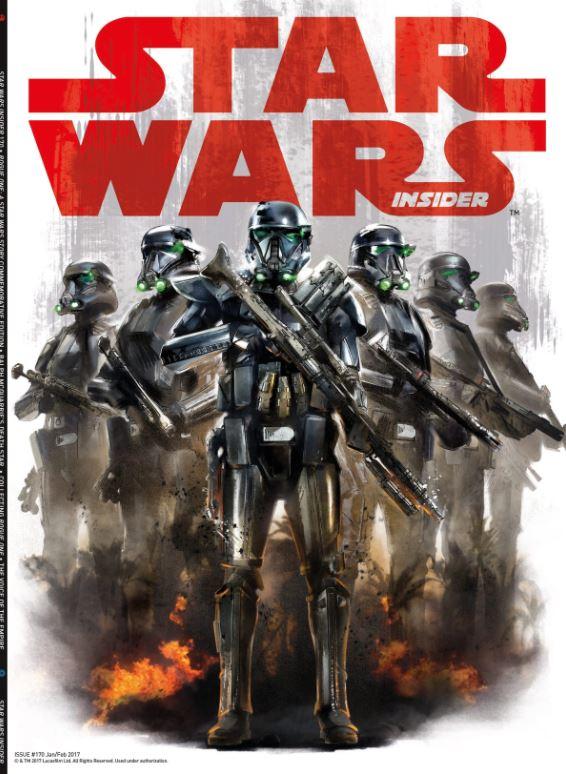 Star Wars Insider 170 - Subscriber Cover
