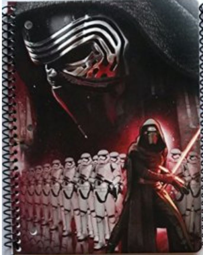 Star Wars 1-Subject Notebook