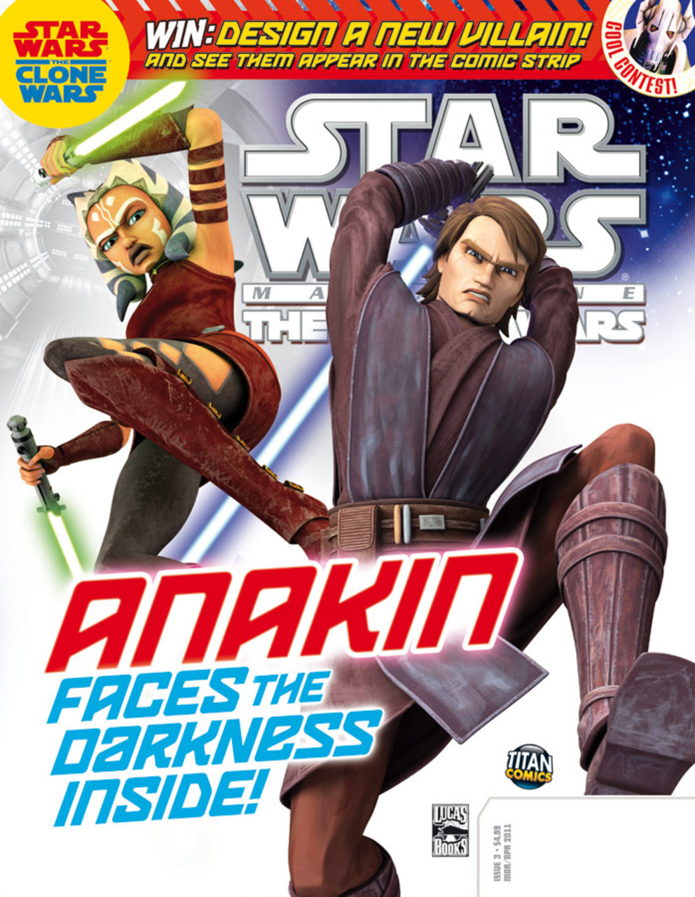 Star Wars The Clone Wars Magazine 3