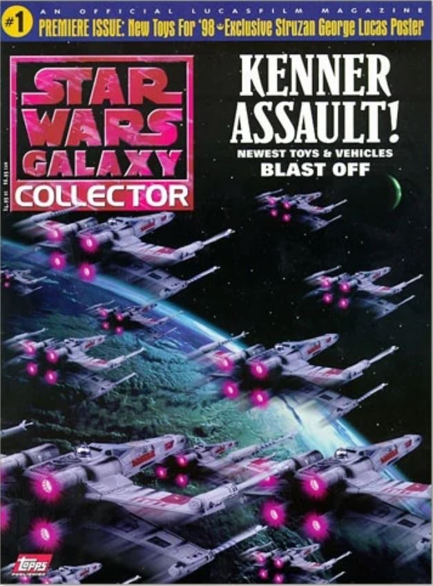 Star Wars Galaxy Collector Magazine 1