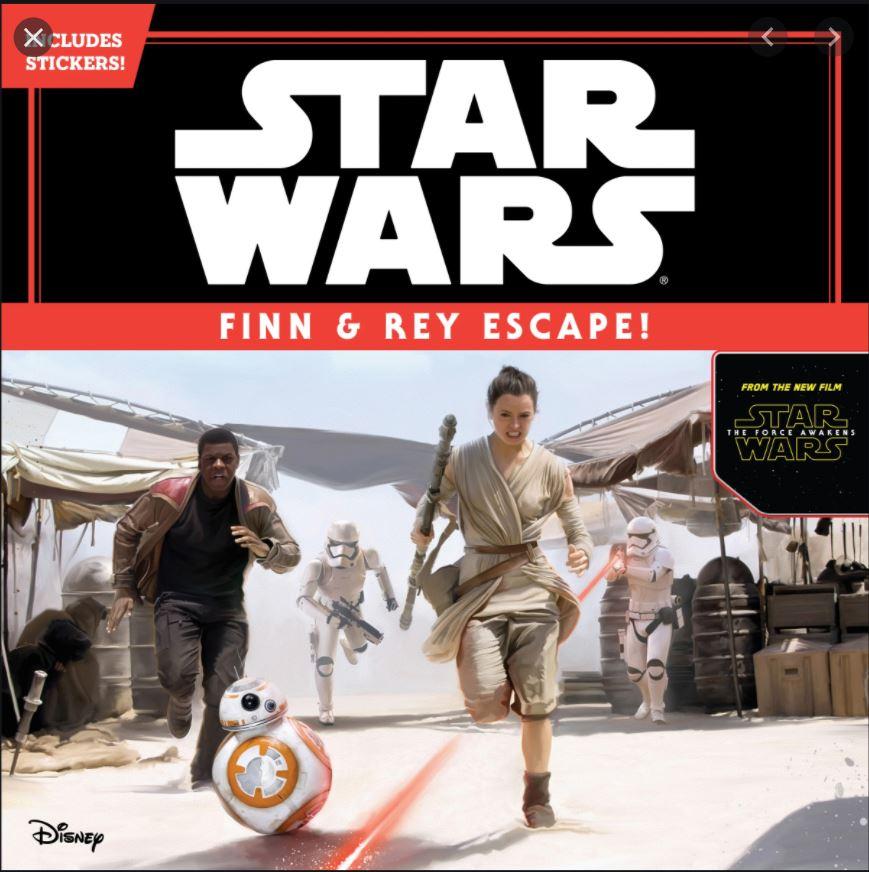 Star Wars: Finn and Rey Escape