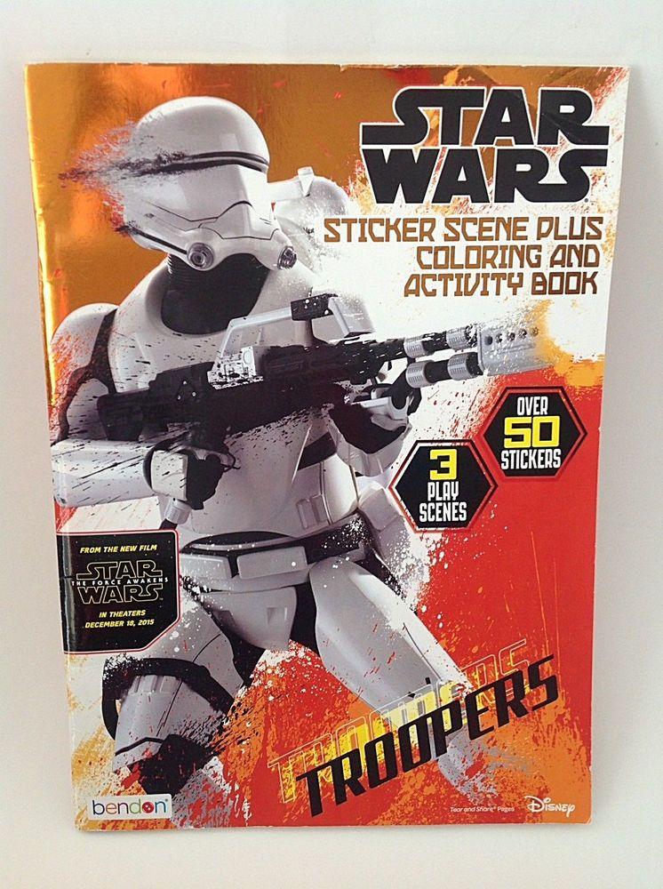 Star Wars Sticker Scenes: Troopers