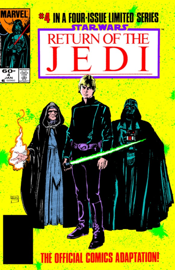Star Wars Return of the Jedi 4 (Marvel)