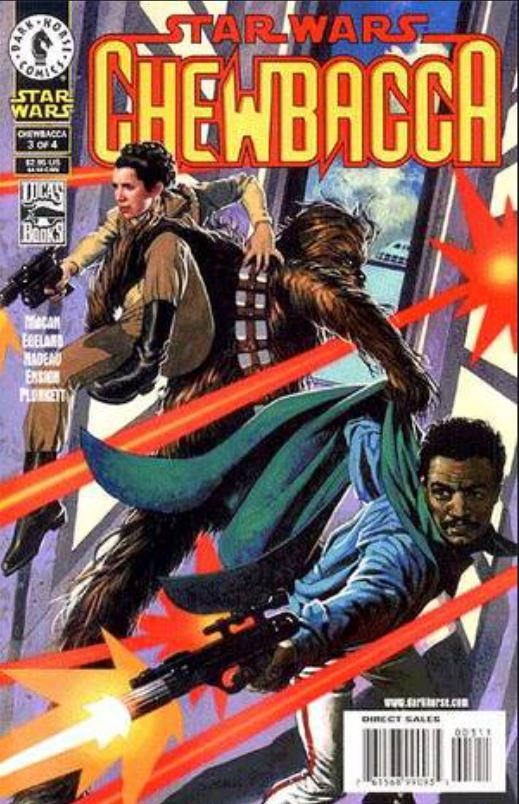Star Wars Chewbacca (Dark Horse) 3