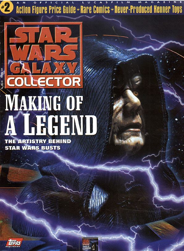 Star Wars Galaxy Collector Magazine 2