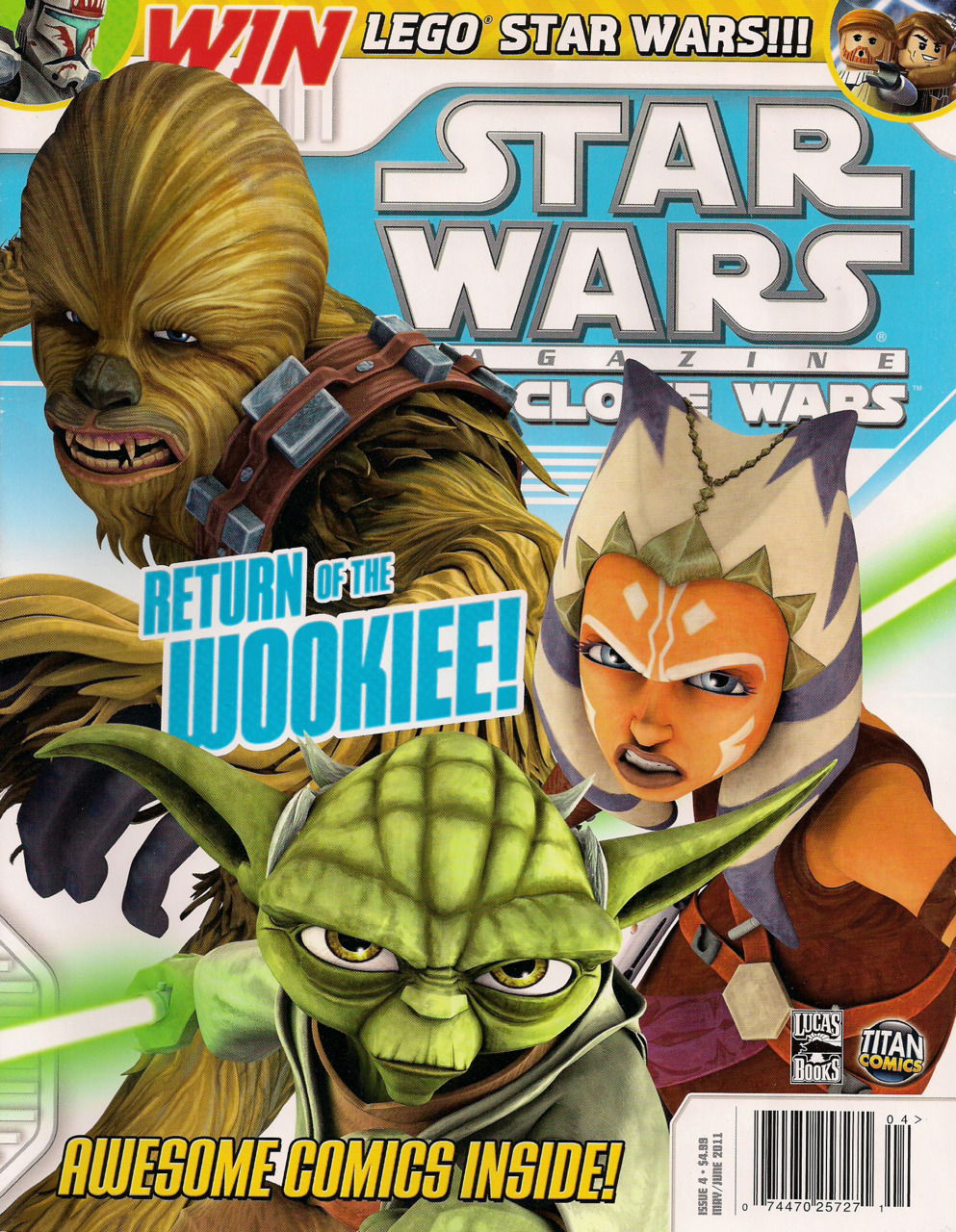 Star Wars The Clone Wars Magazine 4