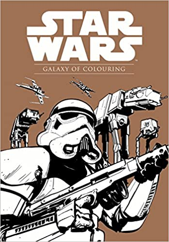 Star Wars Galaxy of Colouring