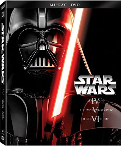 Star Wars Original Trilogy Blu Ray DVD