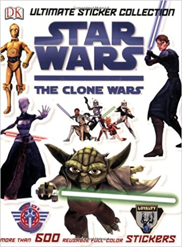 Star Wars The Clone Wars: Ultimate Sticker Collection