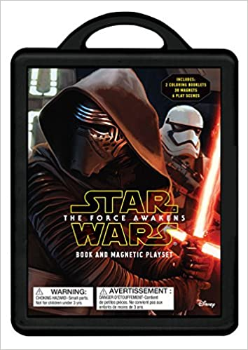 Star Wars The Force Awakens Book and Magnetic Playset