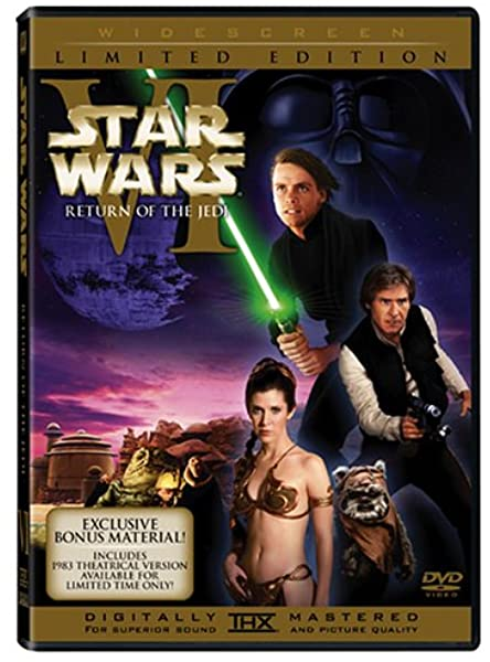 Star Wars: Return of the Jedi (Special Edition DVD with Original Theatrical Release)