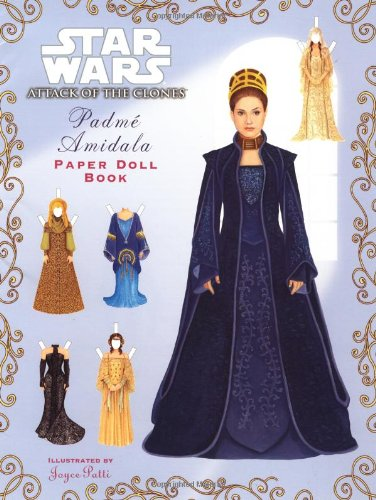 Star Wars: Attack of the Clones Padme Amidala Paper Doll Book