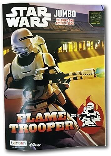 Star Wars Jumbo Coloring & Activity Book: Flametrooper
