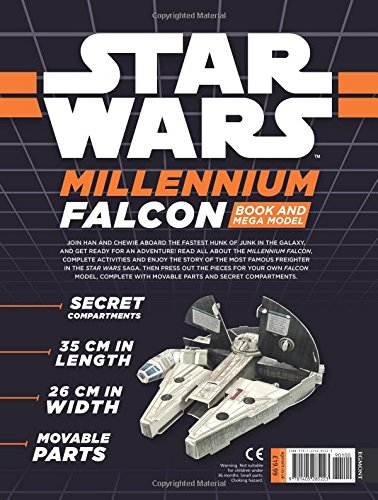 Star Wars: Millennium Falcon Book and Mega Model