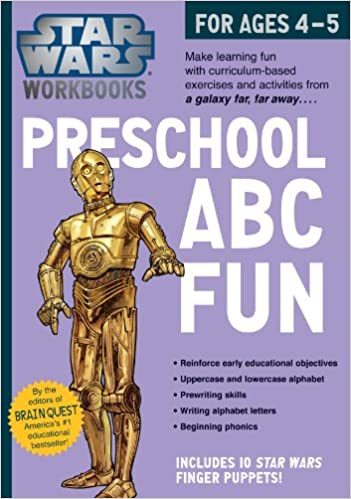 Star Wars Workbooks: Preschool ABC Fun