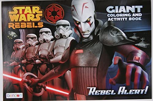 Star Wars Rebels Giant Activity and Coloring Book