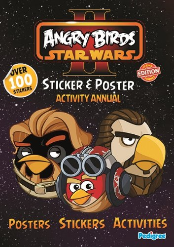 Angry Birds Star Wars II Sticker and Poster Activity Annual 2013