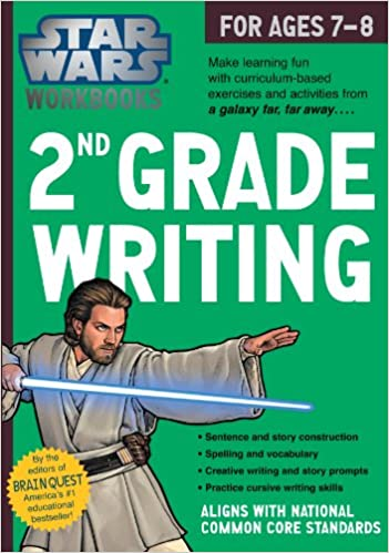 Star Wars Workbooks: 2nd Grade Writing