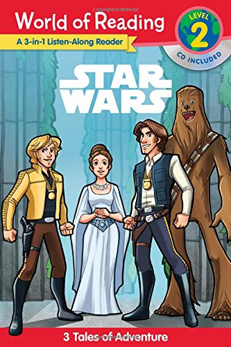 Star Wars World of Reading 3-in-1 Listen-Along Reader (Level 2)