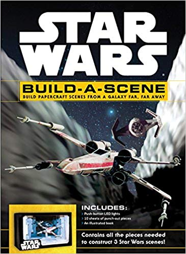 Star Wars: Build A Scene Deluxe Paper Model Kit
