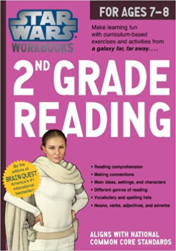 Star Wars Workbooks: 2nd Grade Reading