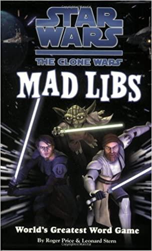 Star Wars The Clone Wars: Mad Libs