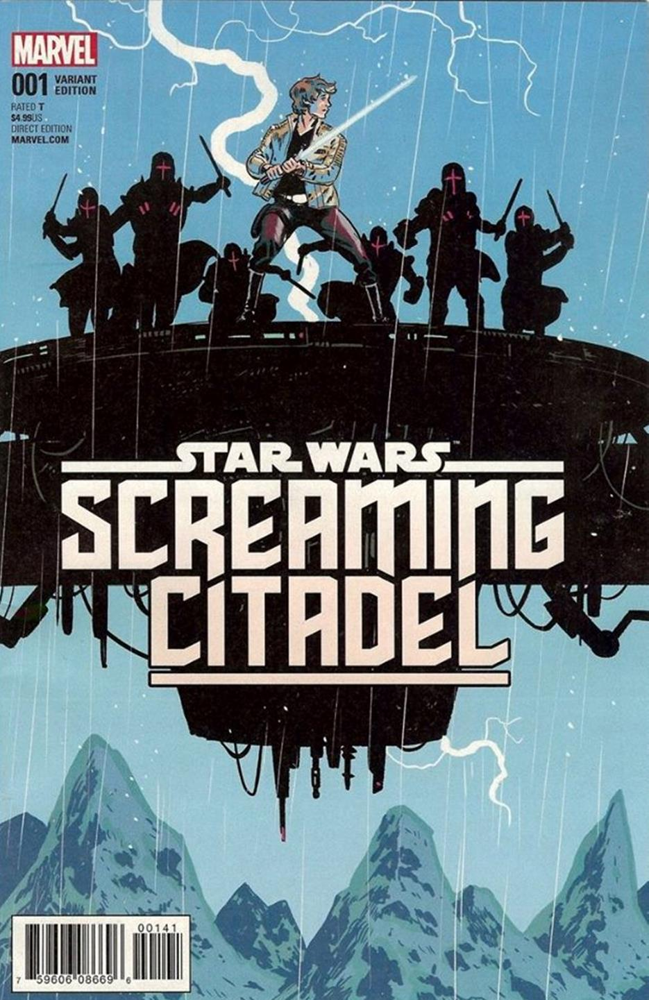 Star Wars: Screaming Citadel - Michael Walsh Variant