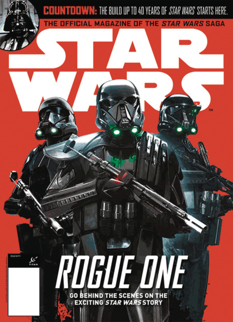 Star Wars Insider 170 - Comic Book Store Exclusive Cover