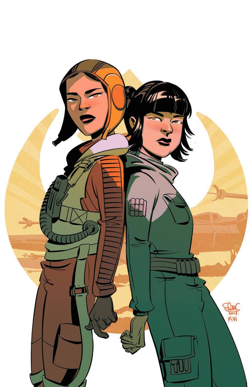 Star Wars Forces of Destiny: Rose & Paige - Wondercon Variant (Elsa Charretier)