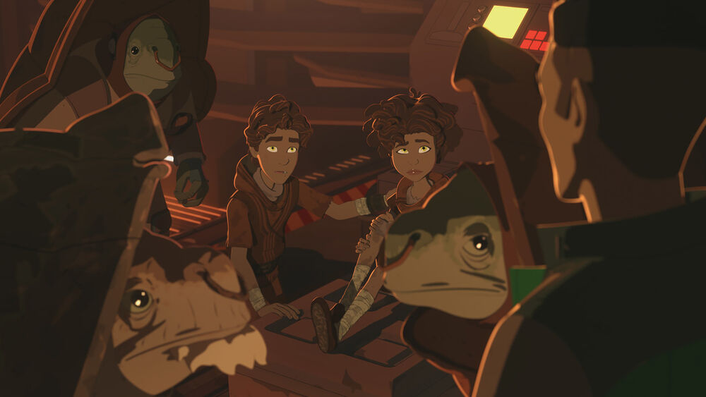 Star Wars Resistance: The Children from Tehar