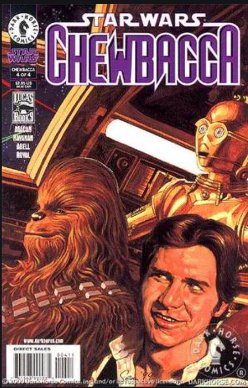 Star Wars Chewbacca (Dark Horse) 4