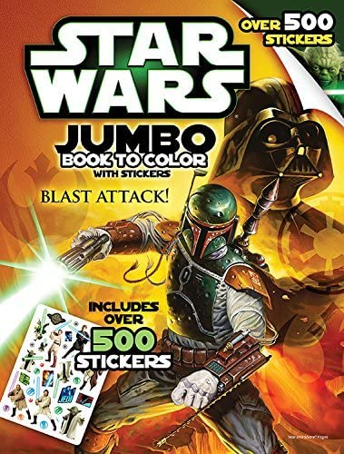 Star Wars: Giant Book to Color (with Stickers)