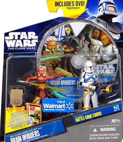 Star Wars The Clone Wars: Brain Invaders DVD