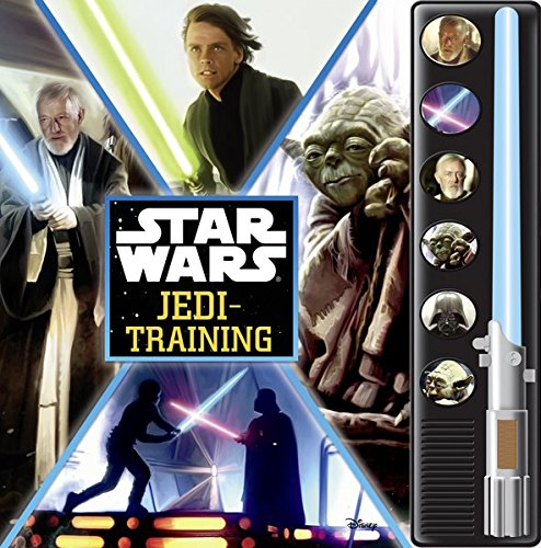 Star Wars Jedi Training Lightsaber Sound Book