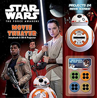 Star Wars The Force Awakens: Movie Theater Storybook & BB-8 Projector