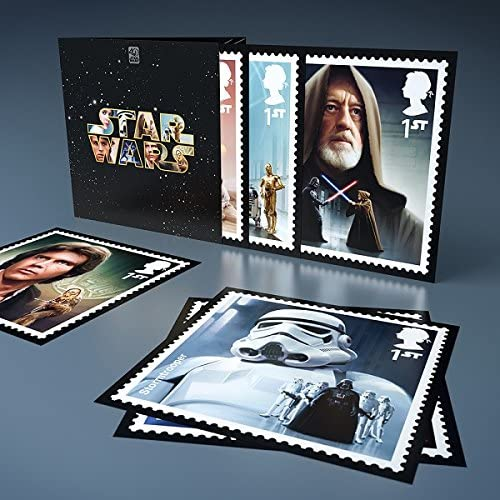 Star Wars 40th Anniversary Stamp Collector's Set