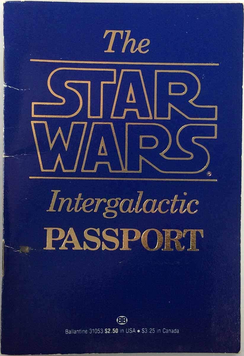 The Star Wars Intergalactic Passport