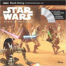 Star Wars: Attack of the Clones Read-Along Book and CD