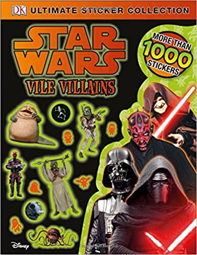 Star Wars: Vile Villains Ultimate Sticker Collection
