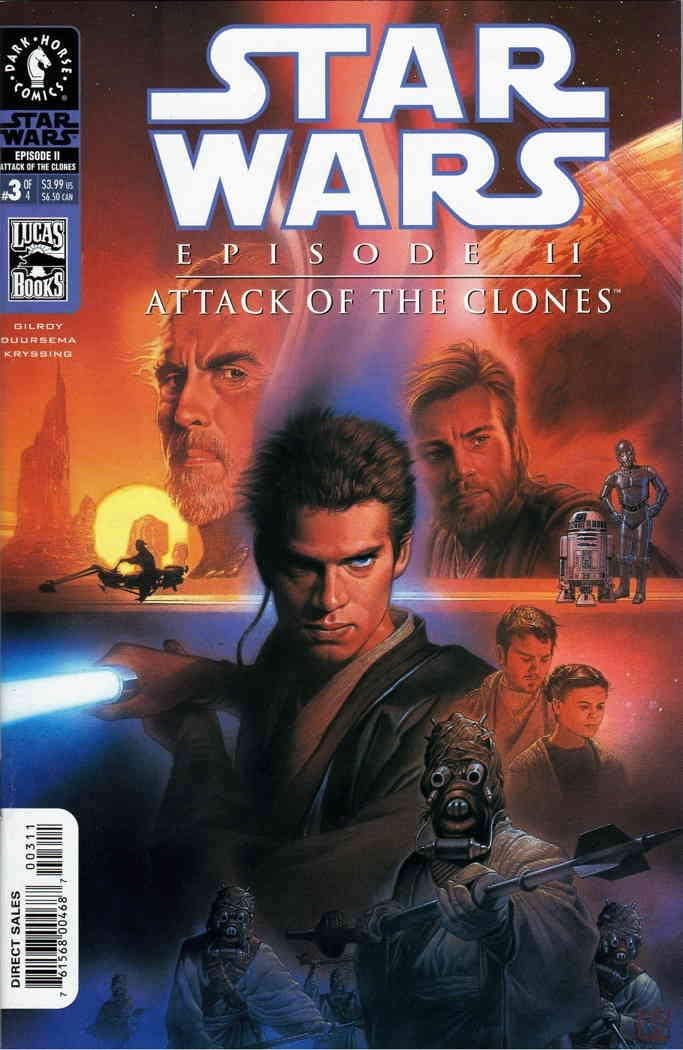 Star Wars Episode II: Attack of the Clones (Comic) 3
