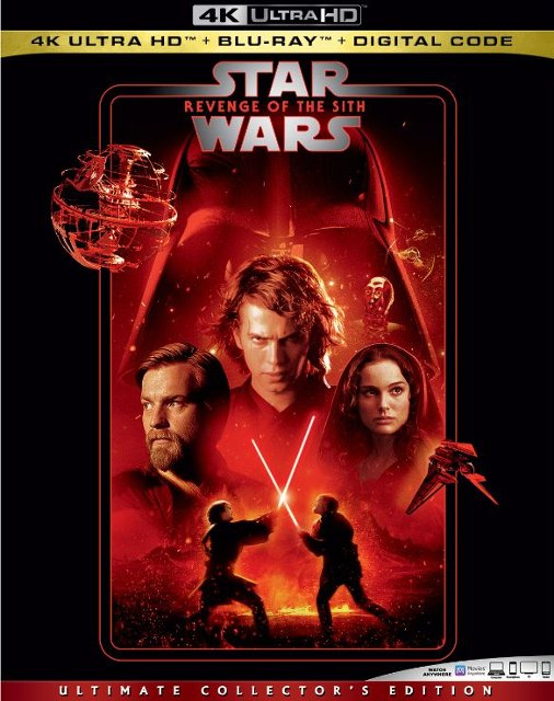 Star Wars: Revenge of the Sith (4K Blu Ray)