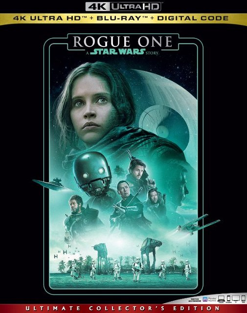 Rogue One: A Star Wars Story (4K Blu Ray)