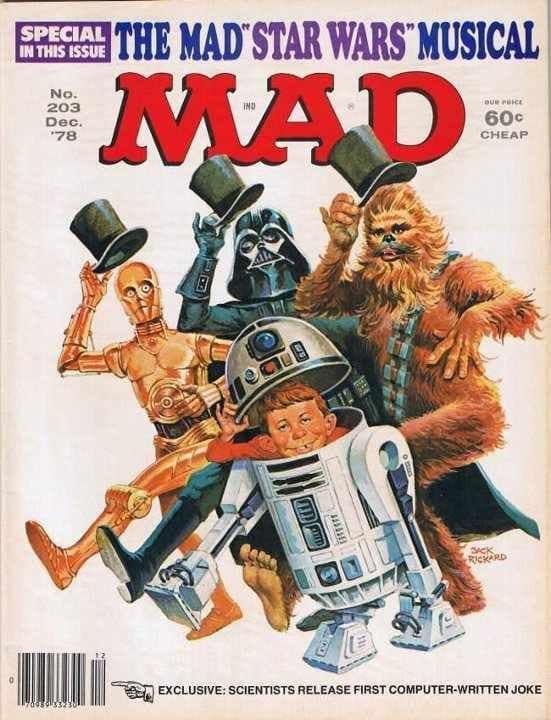 Mad Magazine 203